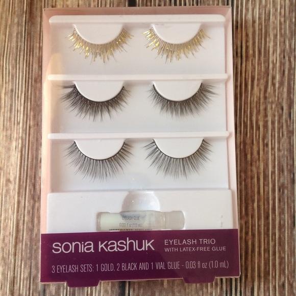 d917eb541d5 Sonia Kashuk Makeup | New Eyelash Trio | Poshmark